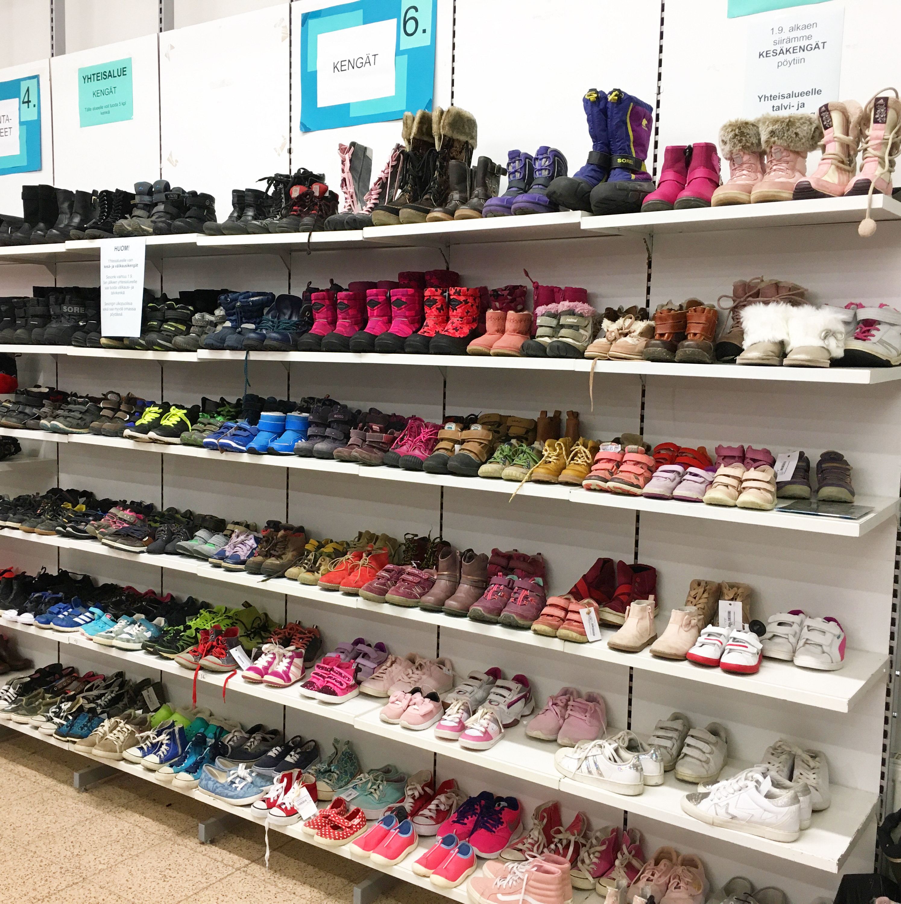 Kengät yhteisalue