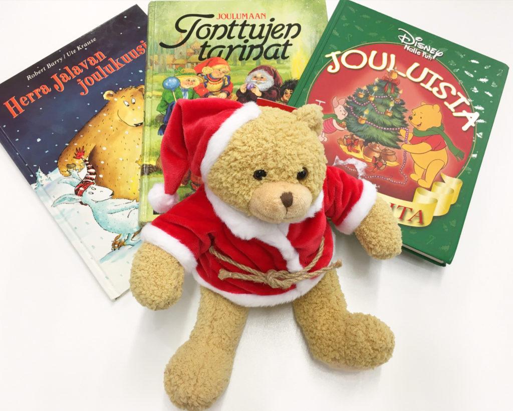 joulunalle ja kirjoja