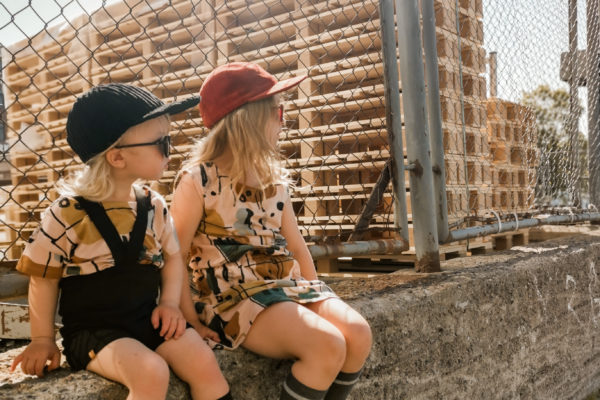 lapset kesällä